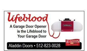 essential garage door opener graphic