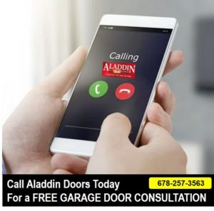 free mobile garage door consultation graphic