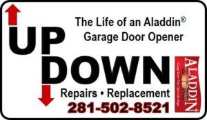 garage door opener repairs and replacement katy TX