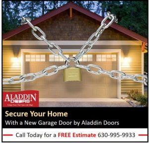 secure your home with a new garage door