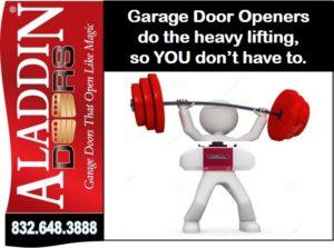 garage door openers for houston graphic