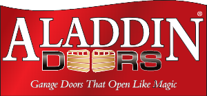 aladdin garage door logo