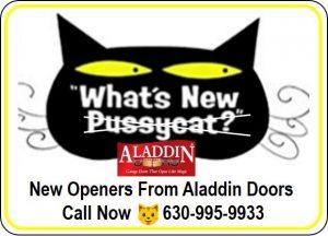 """what's new"" garage door illustration naperville IL"