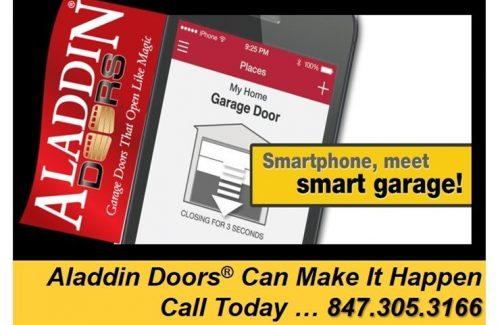 aladdin garage doors app
