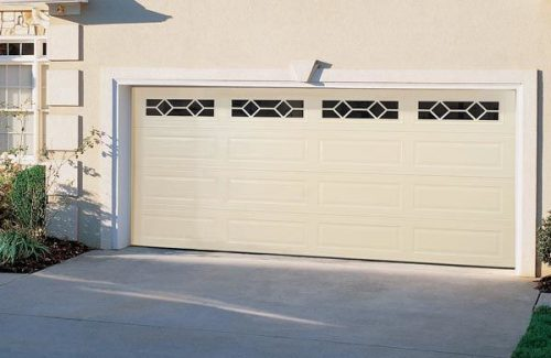 garage door model with windows