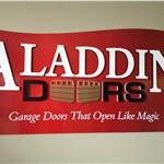 aladdin doors logo