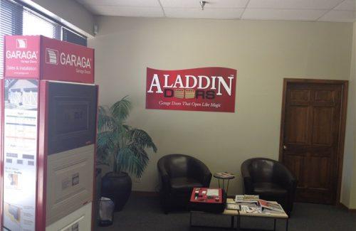 aladdin garage door building
