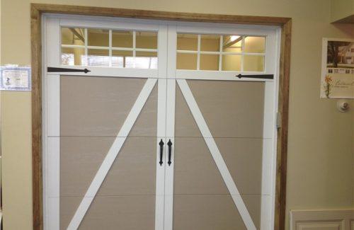 indoor garage door