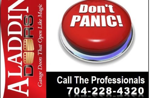 don't panic call the professionals ad