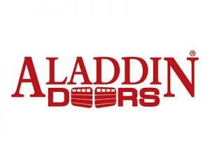 aladdin garage door logo