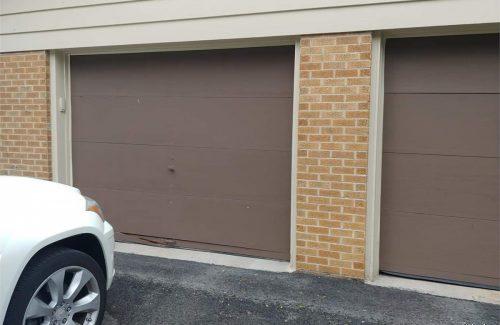 rotting garage doors