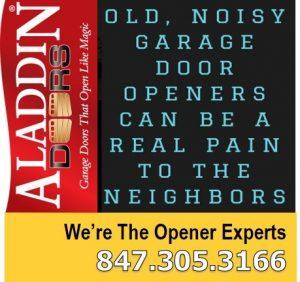 Loud garage door replacement chicago ad