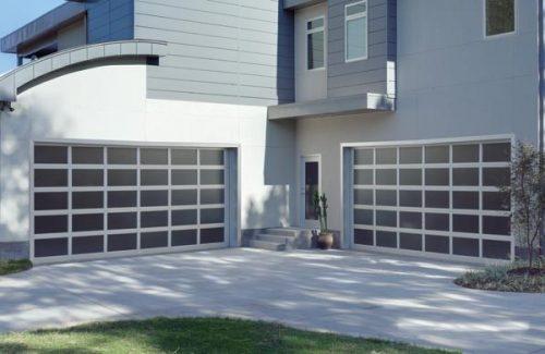 finished garage door service