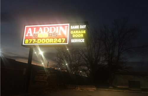 retail store sign