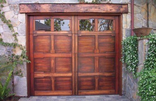 rustic garage door repair