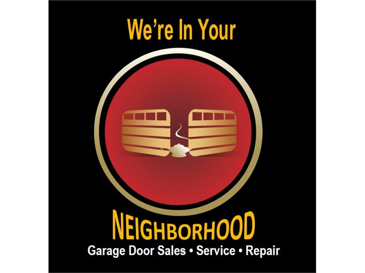 we're in your neighborhood, aladdin garage doors
