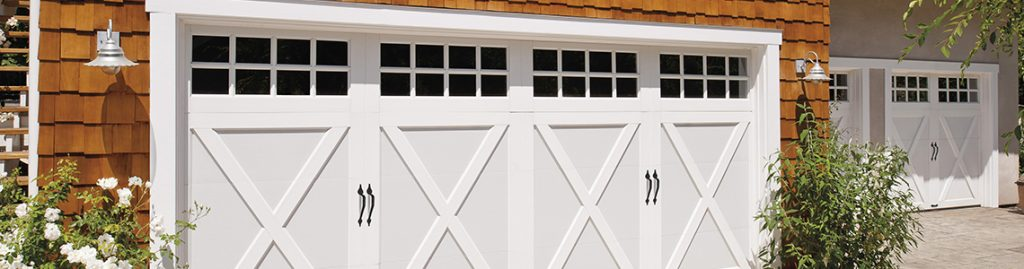 carriage style residential garage doors