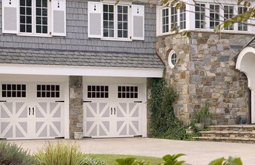 barn door style garage door