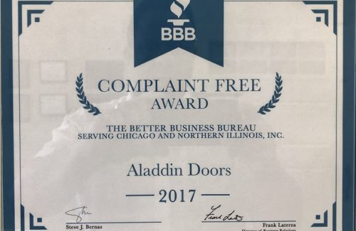 2017 complaint free award