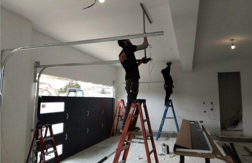 installing new garage door