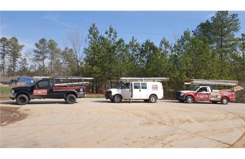 aladdin doors service trucks