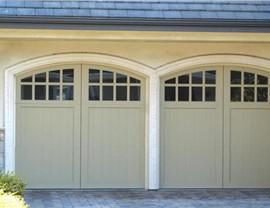 tan garage doors