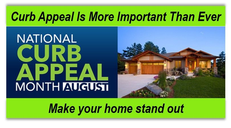 National curb appeal month banner