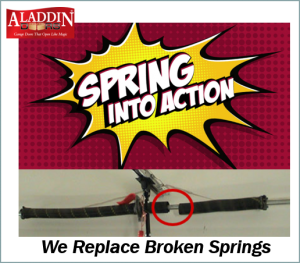 spring into action ad