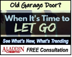when to replace garage door graphic