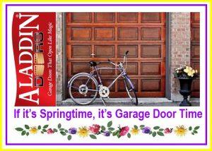 if it's springtime, it's garage door time