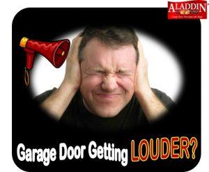 Loud garage door annoying man
